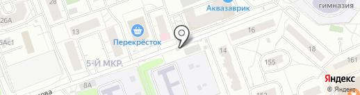 Мясная лавка на карте Одинцово