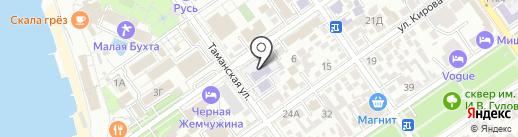 Детский сад №16 на карте Анапы