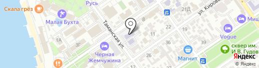 Детский сад №25 на карте Анапы