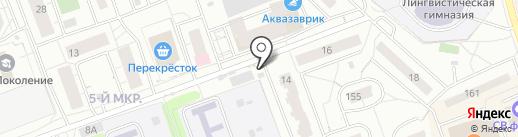 Киоск по продаже молочной продукции на карте Одинцово