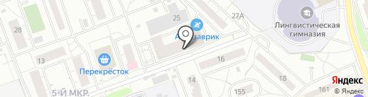 Лето на карте Одинцово