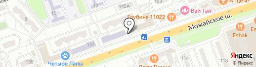 Киоск фруктов и овощей на карте Одинцово
