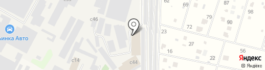 СТРОЙИНЛОК на карте Архангельского