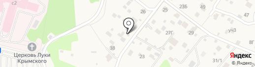 Трактористы на карте Красногорска