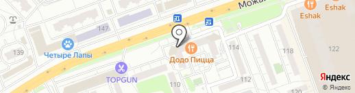 Додо Пицца на карте Одинцово