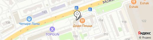 Бамбук на карте Одинцово