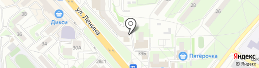Мелисса Тур на карте Красногорска
