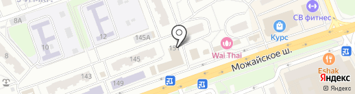 Рапид на карте Одинцово