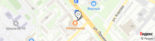 De Niro на карте Красногорска