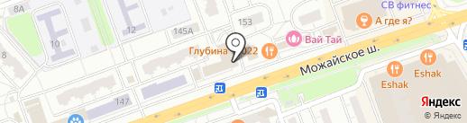 Пивотека 465 на карте Одинцово