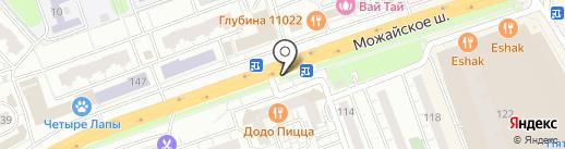 Молот на карте Одинцово