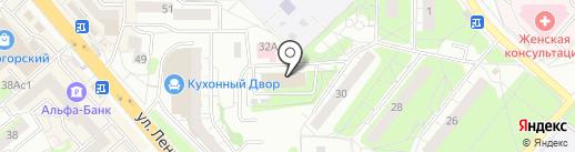 Ростелеком, ПАО на карте Красногорска