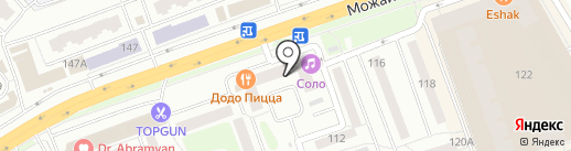 Соло на карте Одинцово