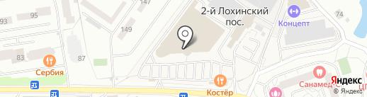 Артвентура на карте Одинцово
