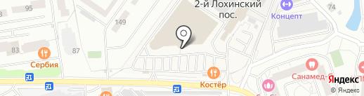 Вкусная помощь на карте Одинцово