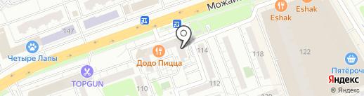ОБЛАСТНАЯ ФИНАНСОВАЯ КОМПАНИЯ на карте Одинцово
