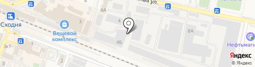 Белый Ясень на карте Химок