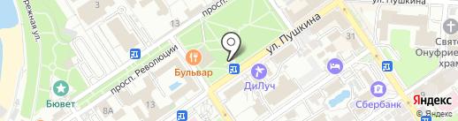 Фиш кабинет на карте Анапы