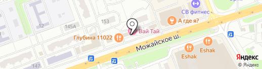 Автотрек на карте Одинцово