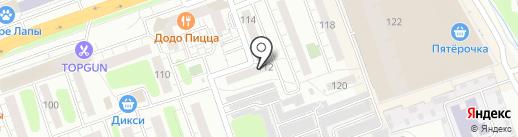 Служба Коммунального Сервиса на карте Одинцово