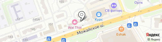 Евросеть на карте Одинцово