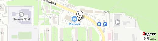 Магазин табачной продукции на карте Красногорска