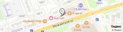Арт флора на карте Одинцово