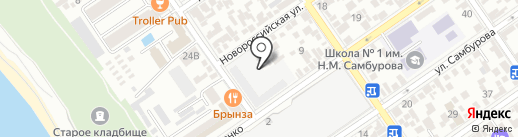 Русская Мебель на карте Анапы
