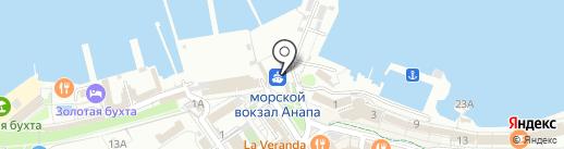 Банкомат, Газпромбанк на карте Анапы