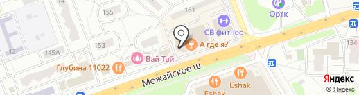 Элекснет на карте Одинцово