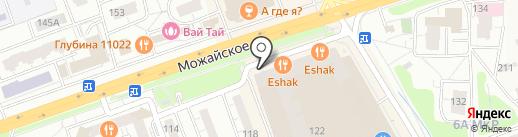 Елисейские поля на карте Одинцово