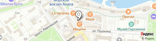 Mini я на карте Анапы