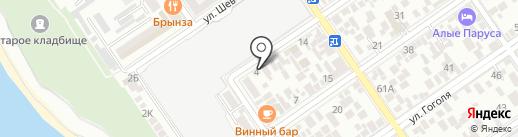 ИзвозАнапа на карте Анапы