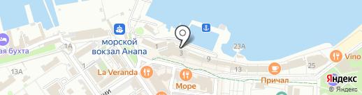 СПА-термостудия на карте Анапы