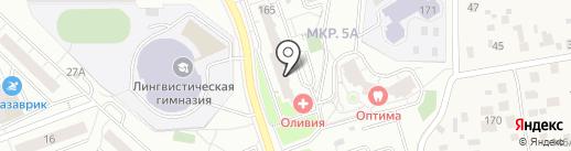 Продуктовый №1 на карте Одинцово