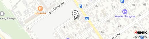 Максимус на карте Анапы