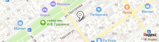Оптика, МУП на карте Анапы