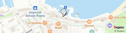 Рай на карте Анапы