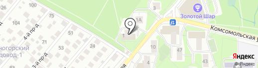 Талисман-Гарант на карте Красногорска