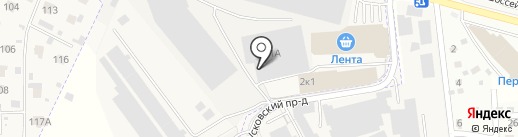 Терминал Новосходненский на карте Химок