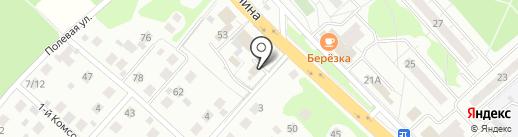 Гранитная мастерская на карте Красногорска