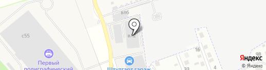 Авто-Трейд на карте Архангельского