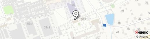 НикаСтрой на карте Одинцово