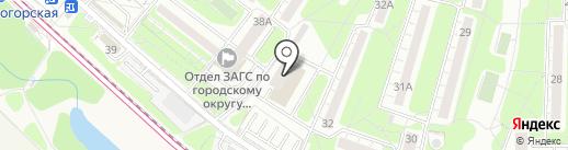 Грин Флора на карте Красногорска