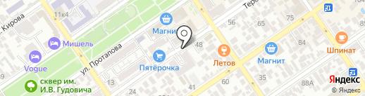 Адвокатский кабинет Обласова А.В. на карте Анапы