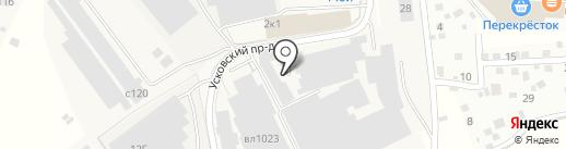 Сходня на карте Химок