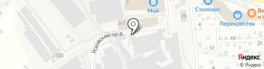 Столовая на карте Химок