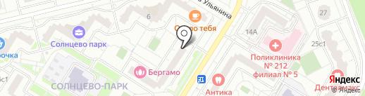 Top Nail Bar на карте Москвы