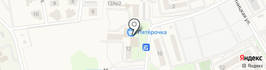 Пятерочка на карте Отрадного