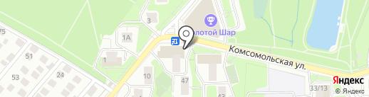Подружка на карте Красногорска